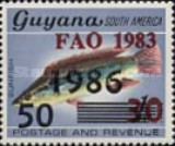 [International Food Day - Issues of 1983 Overprinted