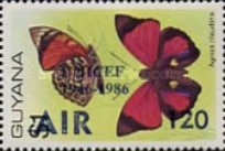 [Airmail - The 40th Anniversary of UNICEF and UNESCO - Issue of 1978 Overprinted & Surcharged, Typ AKE]