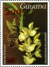 [Orchids Issues Surcharged, Typ ANJ]