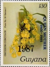 [Orchids - Overprinted, Typ ANO6]