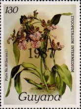 [Orchids - Overprinted, Typ ANO7]