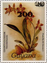 [Orchids - Overprinted, Typ ANP4]