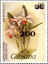 [Orchids - Surcharged & Overprinted, Typ ANR]