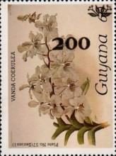 [Orchids - Surcharged & Overprinted, Typ ANR12]