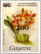 [Orchids - Surcharged & Overprinted, Typ ANR9]