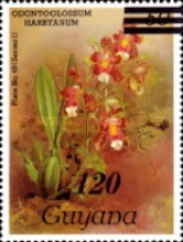 [Orchids - Various Stamps Surcharged, Typ AOY]