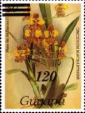 [Orchids - Various Stamps Surcharged, Typ AOY1]