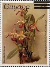 [Orchids - Various Stamps Surcharged, Typ AOY10]