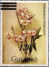 [Orchids - Various Stamps Surcharged, Typ AOY15]