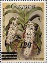 [Orchids - Various Stamps Surcharged, Typ AOY18]