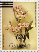 [Orchids - Various Stamps Surcharged, Typ AOY3]