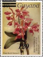 [Orchids - Various Stamps Surcharged, Typ AOY5]