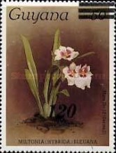 [Orchids - Various Stamps Surcharged, Typ AOY6]