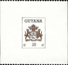 [Coat of Arms of Guyana, Typ ATW]