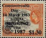 [Commonwealth Heads of Government Meeting, Vancouver - Issues of 1983 further Overprinted