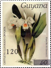 [Orchids - Surcharged, Typ AWG]