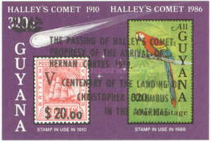 [Halley's Comet - Overprinted & Surcharged, Typ AWY1]