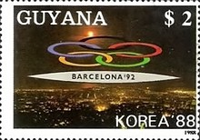 [Olympic Medal Winners - Seoul, South Korea, Olympic Games - Albertville and Barcelona, 1992, Football World Cup - Italy, 1990, Typ BOQ]