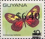 [Various Stamps Surcharged, Typ BVD]