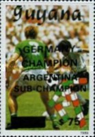 [Winners of Football World Cup - Italy 1990, Typ CNA]