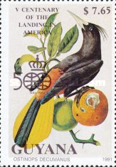 [The 500th Anniversary of the Discovery of America, 1992 - Birds, Typ CQB]