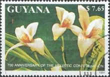 [The 700th Anniversary of the Swiss Federation - Orchids, Typ CQH]