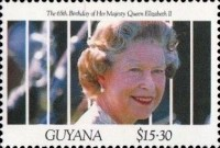 [The 65th Anniversary of the Birth of Queen Elizabeth II, Typ CSM]