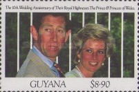 [The 10th Anniversary of the Wedding of Prince Charles and Princess Diana, Typ CSS]