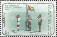 [The 3rd Caribbean Scout Jamboree and Diamond Jubilee of Scouting in Guyana, Typ CT]