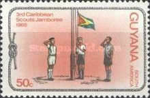 [The 3rd Caribbean Scout Jamboree and Diamond Jubilee of Scouting in Guyana, Typ CT2]