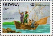 [The 500th Anniversary of Discovery of America by Columbus, Typ CXN]