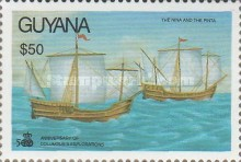[The 500th Anniversary of Discovery of America by Columbus, Typ CXS]