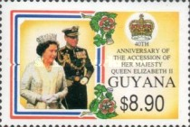 [The 40th Anniversary of Queen Elizabeth II's Accession, Typ CZD]
