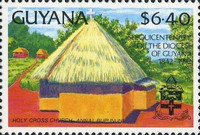 [The 150th Anniversary of Diocese of Guyana, Typ DBR]