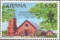[The 150th Anniversary of Diocese of Guyana, Typ DBS]