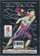 [Airmail - Winter Olympic Games - Albertville, France, Typ DBX]