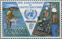 [The 25th Anniversary of United Nations, type DG]