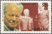 [The 80th Anniversary of the Birth of Willy Brandt, German Politician, 1913-1992, Typ DOT]