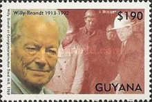 [The 80th Anniversary of the Birth of Willy Brandt, German Politician, 1913-1992, Typ DOU]