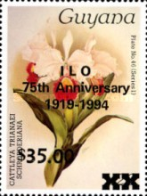 [The 75th Anniversary of I.L.O., Typ EAG]