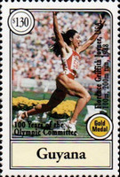 [The 100th Anniversary of International Olympic Committee - Medal Winners, Typ EFK]