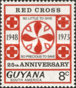 [The 25th Anniversary of Guyana Red Cross, Typ EN]