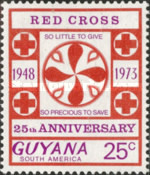 [The 25th Anniversary of Guyana Red Cross, Typ EN1]