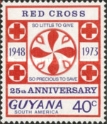 [The 25th Anniversary of Guyana Red Cross, Typ EN2]