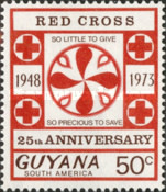 [The 25th Anniversary of Guyana Red Cross, Typ EN3]