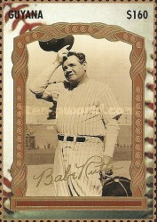 [The 100th Anniversary of the Birth of Babe Ruth, Baseball Player, 1895-1948, Typ ERN]