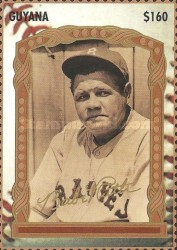 [The 100th Anniversary of the Birth of Babe Ruth, Baseball Player, 1895-1948, Typ ERO]