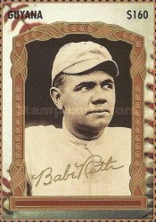 [The 100th Anniversary of the Birth of Babe Ruth, Baseball Player, 1895-1948, Typ ERQ]