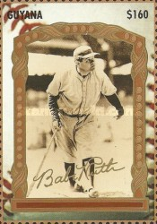 [The 100th Anniversary of the Birth of Babe Ruth, Baseball Player, 1895-1948, Typ ERR]