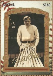 [The 100th Anniversary of the Birth of Babe Ruth, Baseball Player, 1895-1948, Typ ERT]